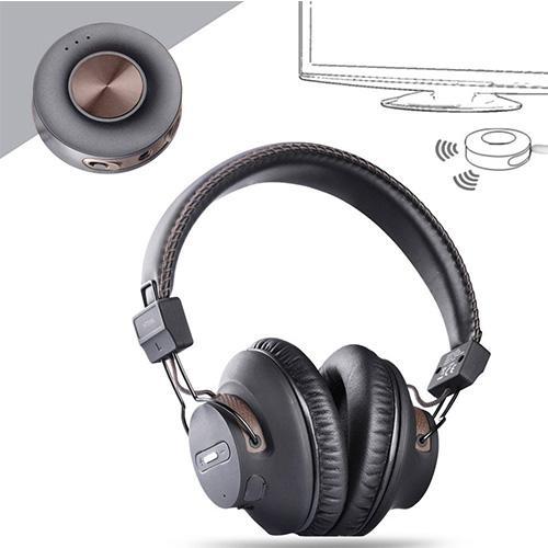 Wireless Headphones for TV w/ Bluetooth Transmitter Set
