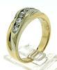14kt Gold Men's 1 CTW Diamond wedding band