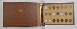 92 Coins 1857-1931 Flying Eagle, Indian, Wheat Cents Album Partial Set