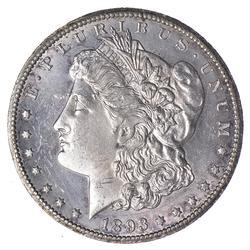 1893-CC Morgan Silver Dollar - Proof-Like - Circulated