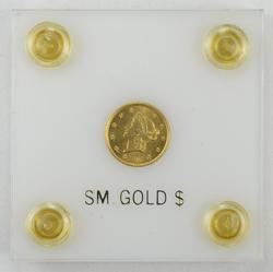 1849 Liberty Head Gold Dollar - Choice