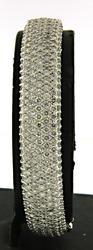 14KT Gold 10CTTW Pave Diamond Bracelet