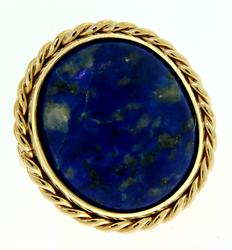 Large Lapis Lazuli Statement Ring