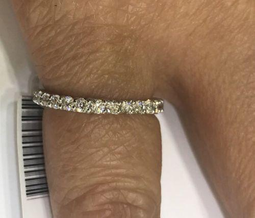 The Perfect 18kt Gold Diamond Eternity Band!