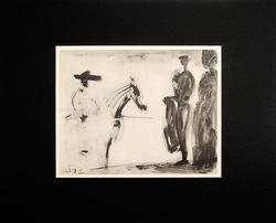 From 'A Los Toros' Suite, Vintage Collectible Pablo Picasso