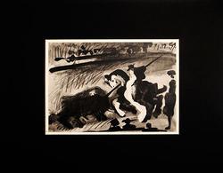 From 'A Los Toros' Suite, Vintage Collectible Pablo Picasso