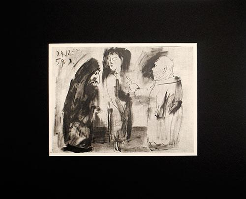 Bullfighting Suite Vintage Pablo Picasso Plate