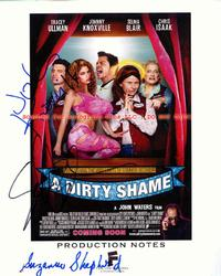 JOHNNY KNOXVILLE BLAIR + Signed A DIRTY SHAME Program
