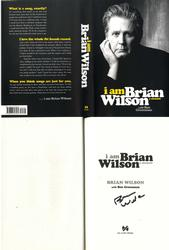 Brian Wilson Signed I Am Brian Wilson Title Page AFTAL