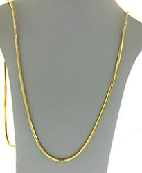 18Kt Yellow Gold Snake Chain