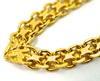 Lovely 21K V Style Necklace