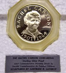 Rachel Carson Sterling Proof Medal