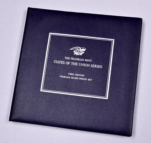 50 States of the Union Sterling Proof Medal Album