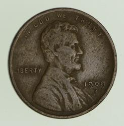 1909-S Lincoln Wheat Cent - Circulated