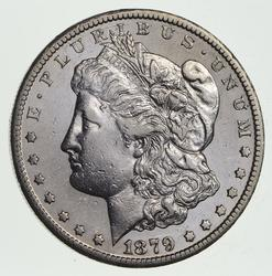 1879-CC Morgan Silver Dollar - Choice