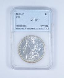 MS65 1900-O Morgan Silver Dollar - Graded NNC