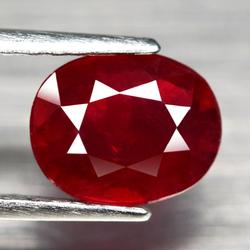 Sumptuous 2.34ct top blood red Ruby