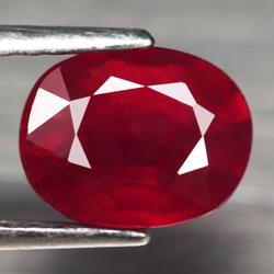 Sumptuous 2.69ct top blood red Ruby