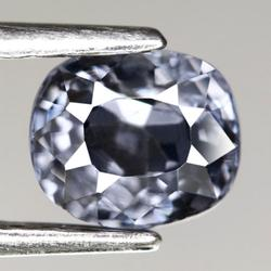 Stunning 1.09ct silver blue diamond luster Spinel
