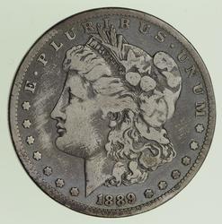 1889-CC Morgan Silver Dollar - Circulated