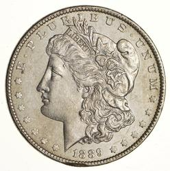 1889 Morgan Silver Dollar - Choice