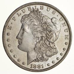 1881-O Morgan Silver Dollar - Choice Proof Like
