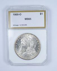 MS65 1900-O Morgan Silver Dollar - Graded by PCI