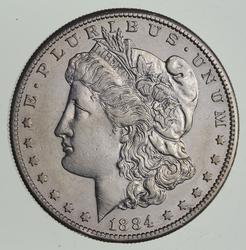 1884-S Morgan Silver Dollar - Choice