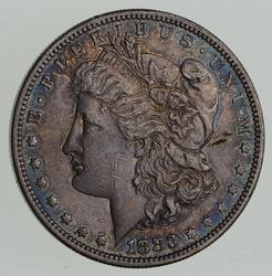 1883-S Morgan Silver Dollar - Toned - Sharp