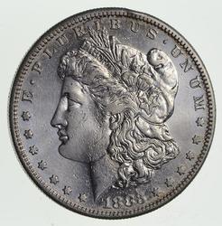 1883-S Morgan Silver Dollar - Choice