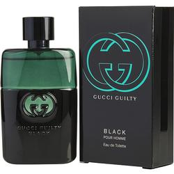 GUCCI GUILTY BLACK POUR HOMME by Gucci EDT SPRAY 1.6 OZ