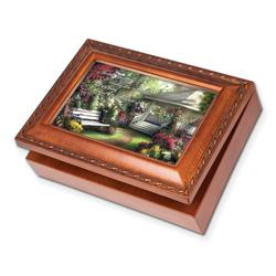 Woodgrain Special World Traditional Music Box