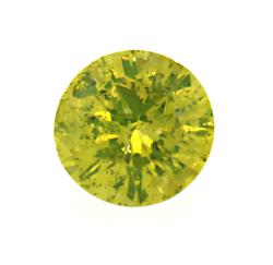 Radiant Yellow Diamond Gemstone