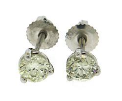 Chic 14kt Diamond Earrings