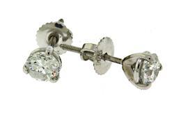 Brilliant 14kt Diamond Studs