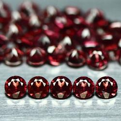 Exemplary set of 2.5mm untreated Garnets