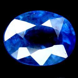 Stunning top blue 2.43ct 6x8mm Sapphire