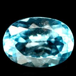 Impressive 6.23ct 10x14mm oval cut Brazilian Topaz