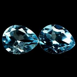 Beautifully matched 5.25ct Topaz pair
