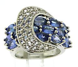 925 Sterling Silver Tanzanite Ring
