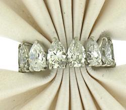 Eye Catching 6cttw Pear Shaped Diamond Ring