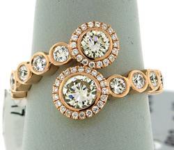 Gorgeous Rose Gold Diamond Ring