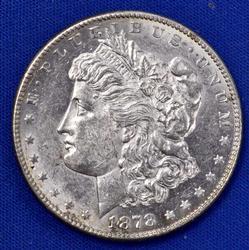 Very Near Unc 1878 S Morgan Dollar