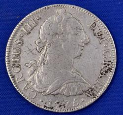 1775 Mexico City 8 Reales