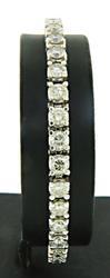 Sublime Platinum Diamond Tennis Bracelet