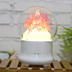Pink Immortal Preserved Flower Mini Aroma Humidifier
