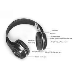 Hurricane H Bluetooth 4.1 Wireless Stereo Headphones Headset