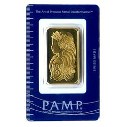 PAMP Suisse One Ounce Gold Bar