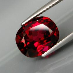Exquisite 4.53ct ruby red Rhodolite Garnet