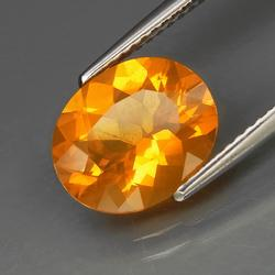 TOP FANTA ORANGE 2.12ct Mexican Fire Opal